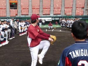 楽天イーグルス野球教室の様子6
