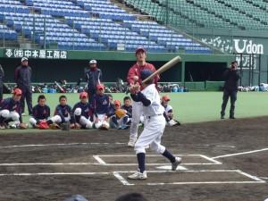 楽天イーグルス野球教室の様子7