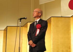 3-副知事 足羽 憲治(県知事代理) 来賓祝辞